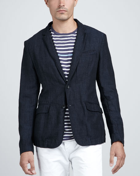 Phillips Cotton/Linen Blazer