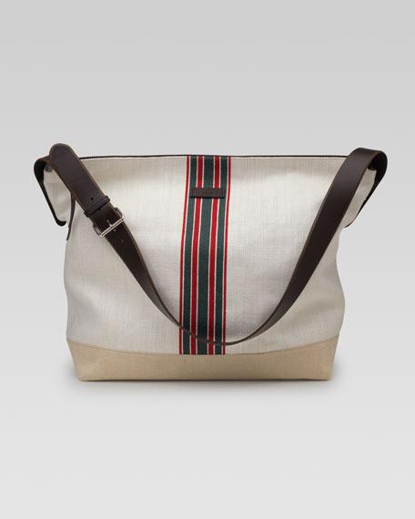 Hempy Canvas Messenger Bag