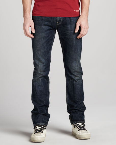 Faded Indigo Jeans
