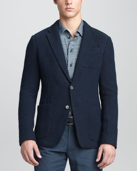 Textured Soft Blazer