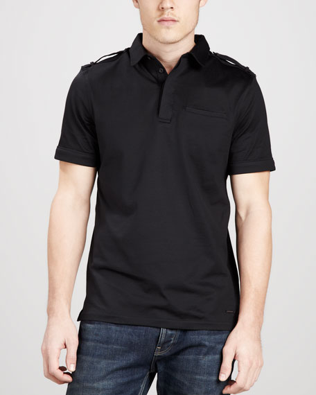 Military Polo, Black