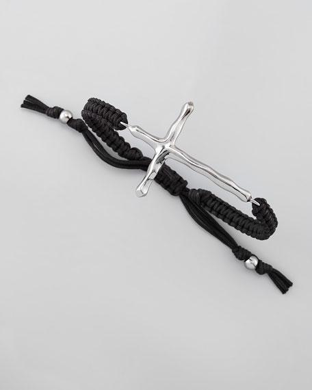 Wavy Cross Bracelet