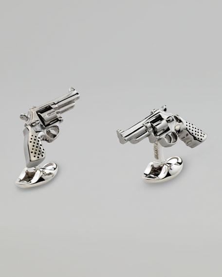 Revolver Cuff Links