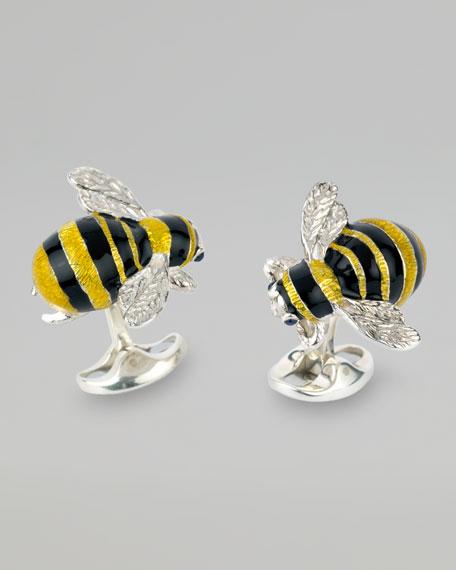 Bumblebee Cuff Links
