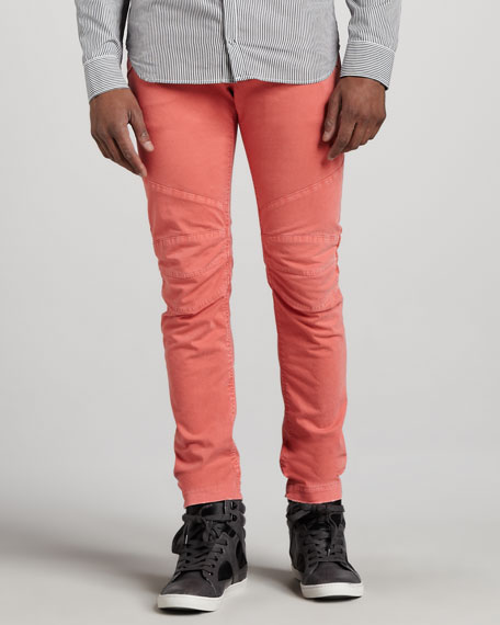 Biker Jeans, Salmon