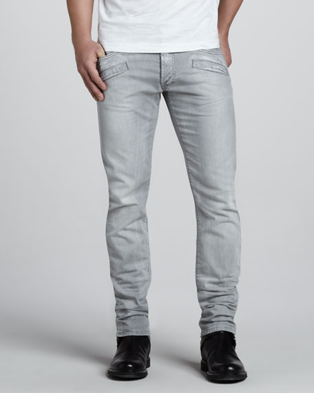 Skinny Light Gray Jeans