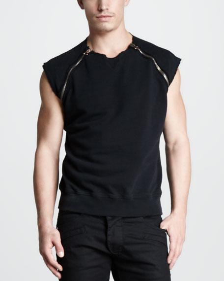 Sleeveless Sweatshirt