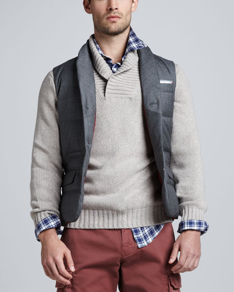 Sartorial Vest, Gray