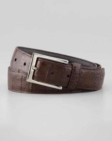 Crocodile Belt, Brown