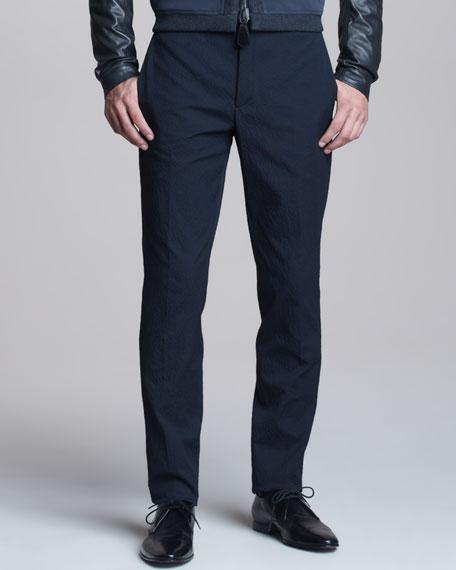 Slim Gabardine Pants