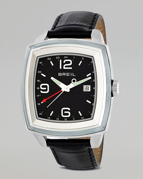 Orchestra Embossed-Strap Watch