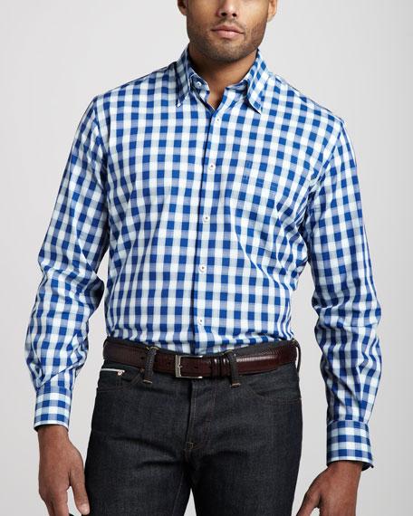 St. Lucia Check Sport Shirt