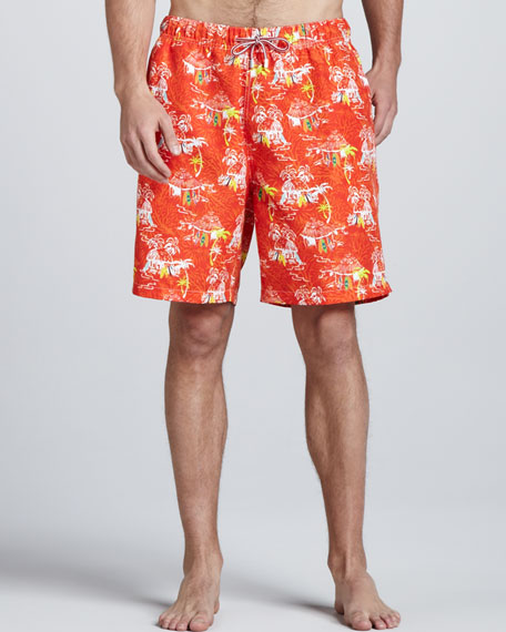 Fiji Holiday Swim Trunks