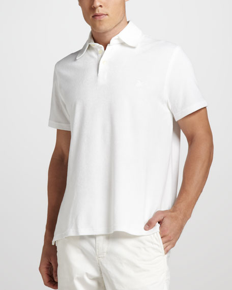 Terry Polo, White