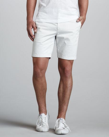 Zaine Slim Shorts, Oyster