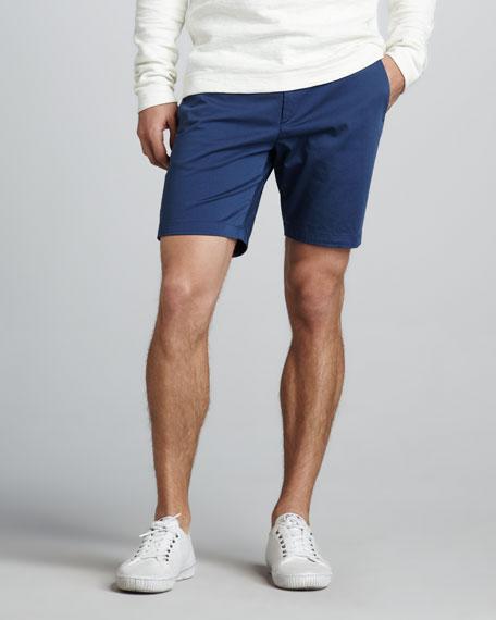 Zaine Slim Shorts, Aqua