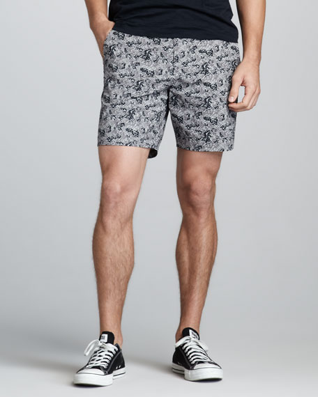 Karl Printed Shorts