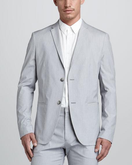 Sherwin Fine-Stripe Blazer