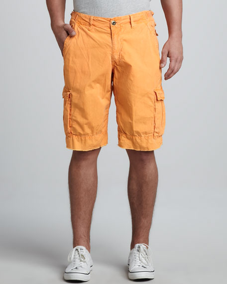 Oxnard Cargo Shorts, Tangerine