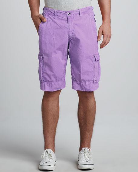 Oxnard Cargo Shorts, Lilac