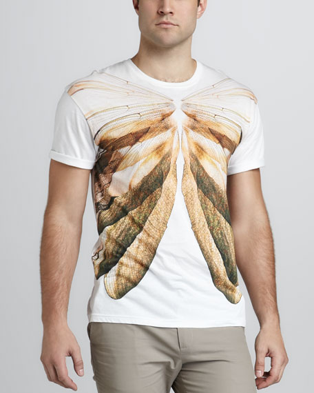Dragonfly-Print Tee