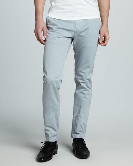 Slim Four-Pocket Pants, Palestone Blue