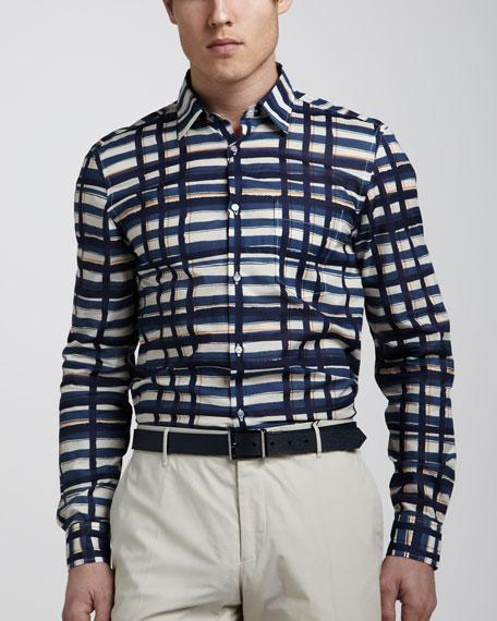 Brushstroke Sport Shirt