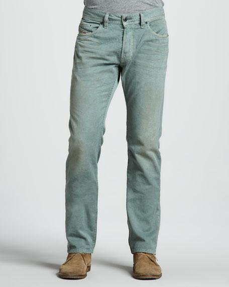 "Safado Green Jeans, 32""L"