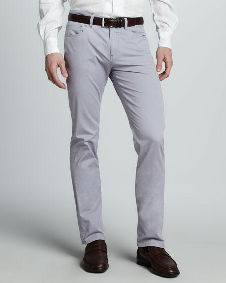 Delave Five-Pocket Pants, Purple