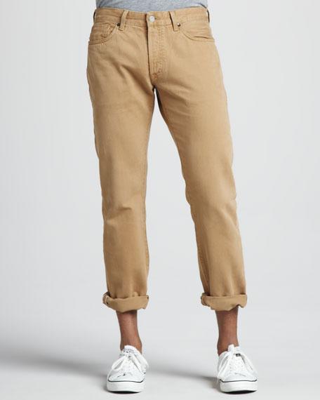 Ruler Five-Pocket Selvedge Pants