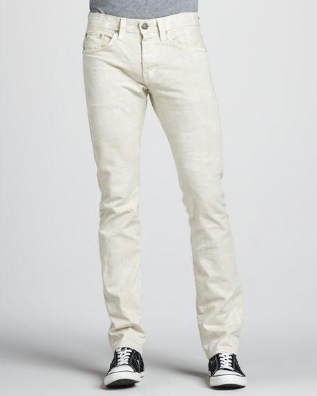 Kane Slim Cream Camo Jeans
