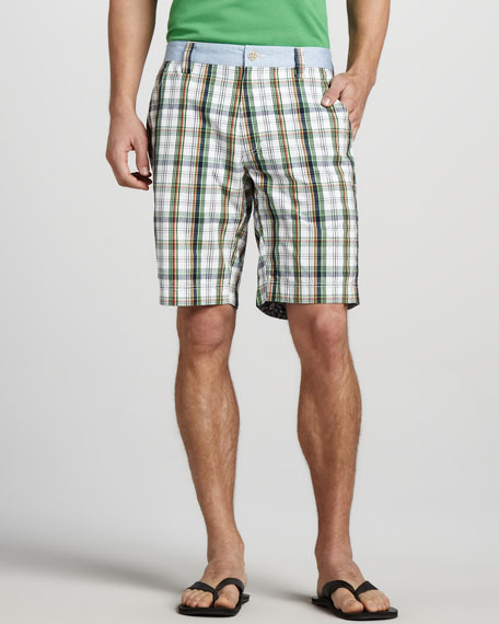 Barbuda Check Shorts