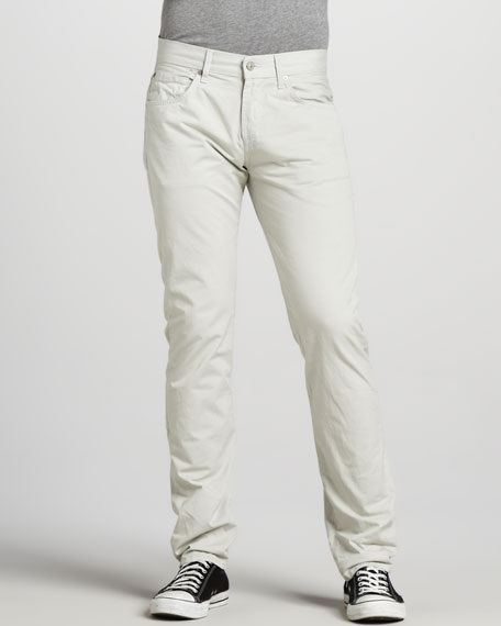 The Straight Twill Pants, Sand Stone