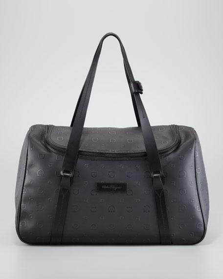 Salvatore Ferragamo Travel Duffle Bag, Black
