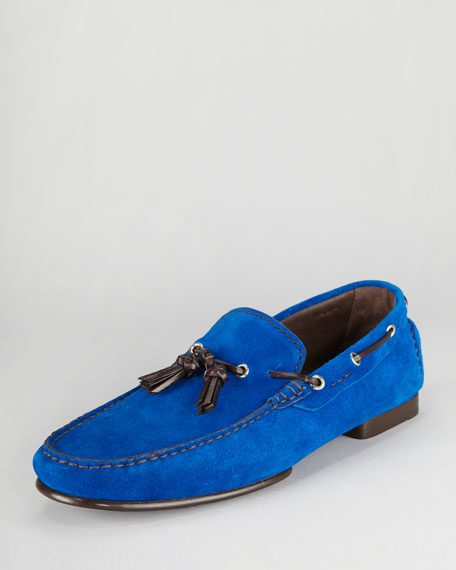 Grant Suede Tassel Driver