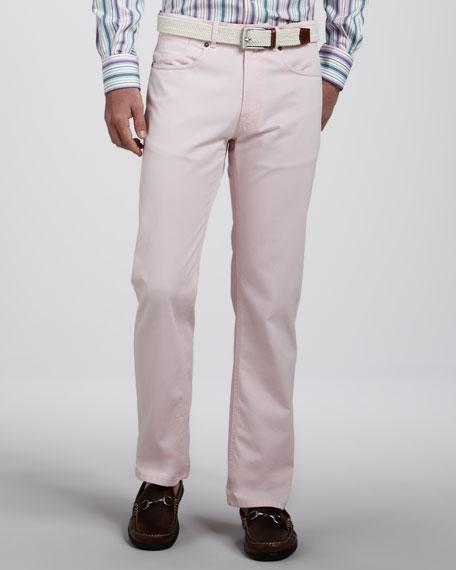 Roberson Cotton-Linen Pants
