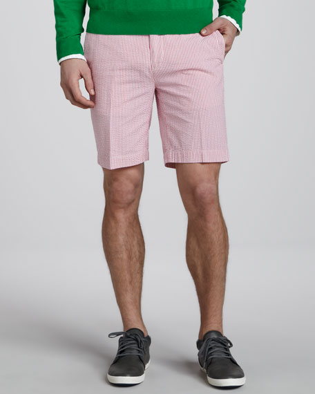 Suffield Striped Shorts