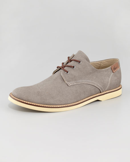 Sherbrooke Canvas Lace-Up Shoe