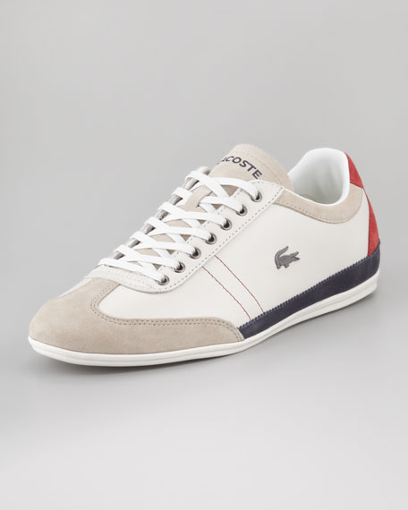 Misano Tricolor Leather Sneaker