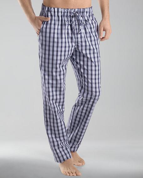 Clifford Woven Plaid Pajama Pants