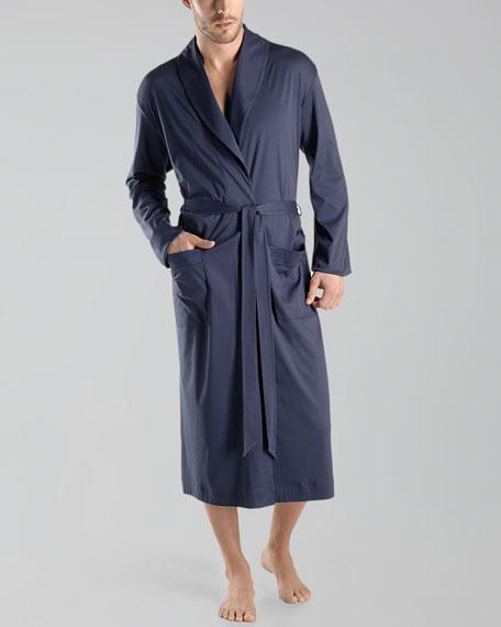 Clifford Knit Robe, Midnight Navy