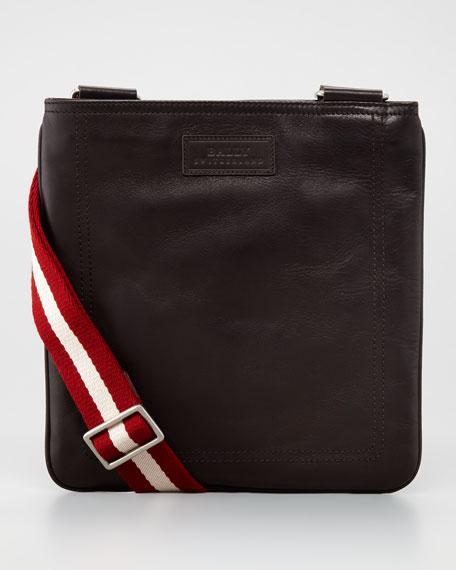 Taisten Web-Strap Crossbody Bag, Brown