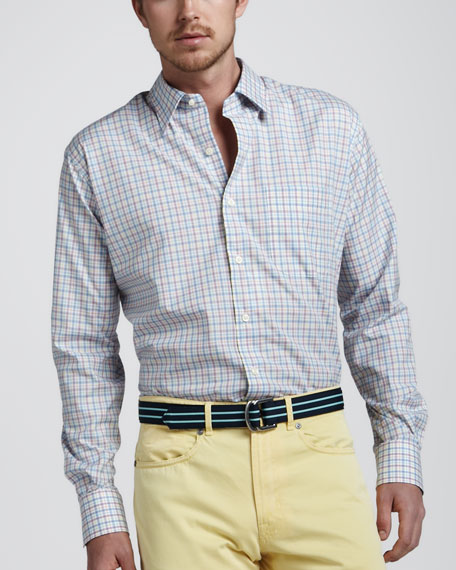 Check End-on-End Sport Shirt