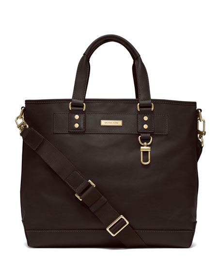 Large Smooth Leather Tote