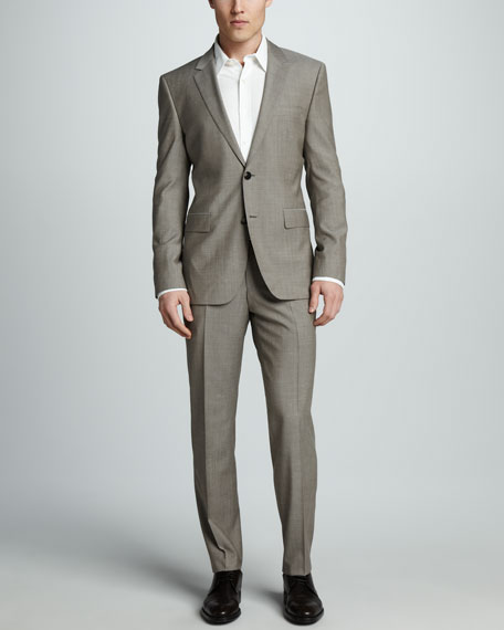 Sharkskin Suit, Tan