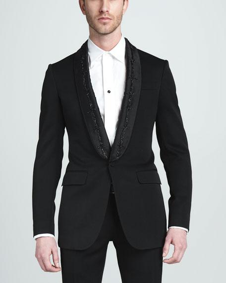 Barb-Wire Tuxedo Jacket