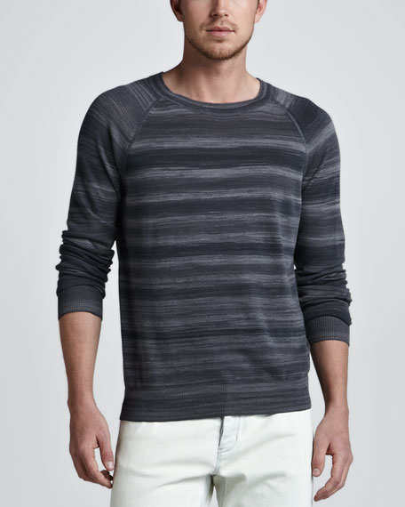 Rudi Striped Raglan Sweater