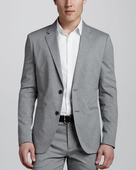 Kris Cotton-Blend Blazer