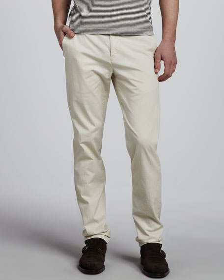 Perth Slim Cotton Pants