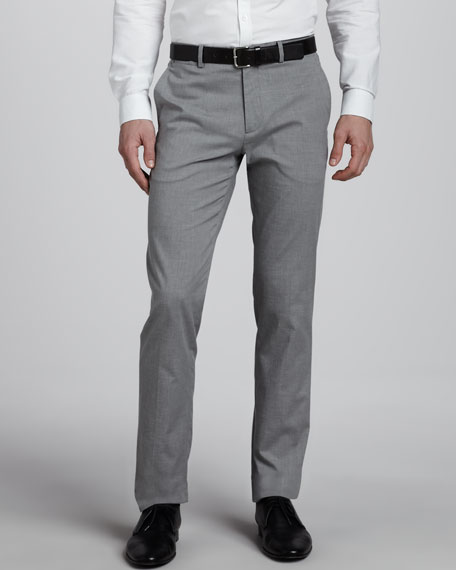 Marlo Cotton-Blend Slim Pants